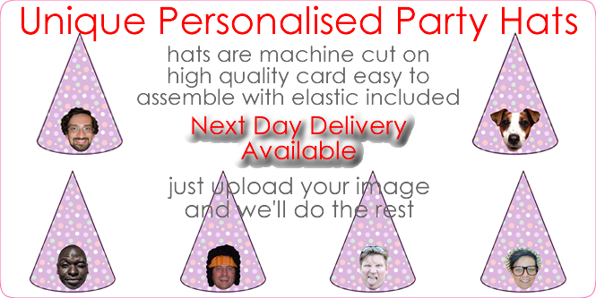 Personalised Party Hats