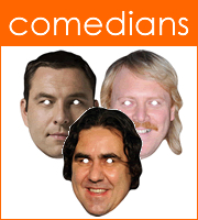Masks Of Comedians