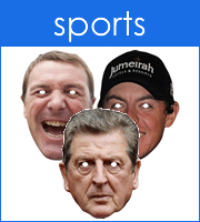 Sports Personalities Masks