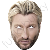 Robbie Savage Football Mask