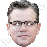 Matt Damon Mask