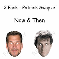 2 Pack - Patrick Swayze Now & Then