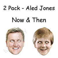 2 Pack - Now & Then Aled Jones Masks