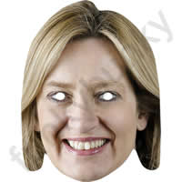 Amber Rudd Politician Mask