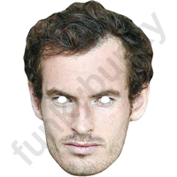 Andy Murray 2nd Version Tennis Mask