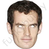Andy Murray Tennis Mask