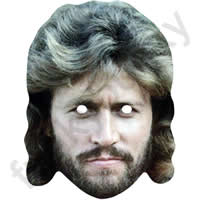 Barry Gibb Retro 1980s Mask