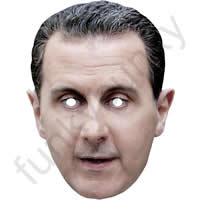 Bashar al-Assad Politician Mask