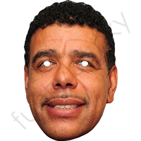 Chris Kamara Football Commentator Face Mask
