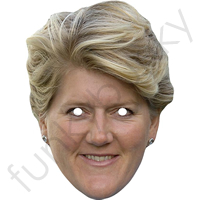 Claire Balding Horse Riding Commentator Face Mask