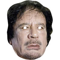 Colonel Gaddafi Politician Mask