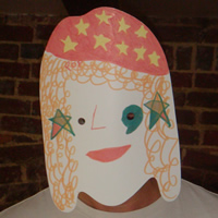 Blank Womans Head Mask