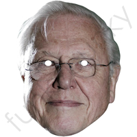 David Attenborough Mask