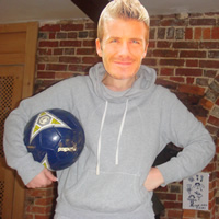 David Beckham Young Mask