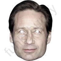 David Duchovny Actor Mask