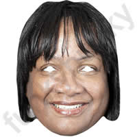 Diane Abbott Politician Mask