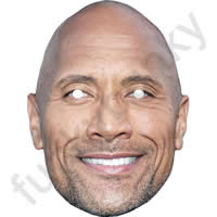 Dwayne Johnson Actor Mask