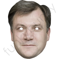 Ed Balls Politician Mask