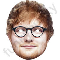 Ed Sheeran With Glasses Mask
