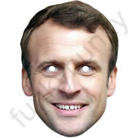 Emmanuel Macron Politician Mask