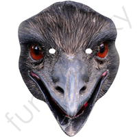 Emu Animal Mask