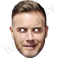 Gary Barlow Mask - TAKE THAT - X Factor
