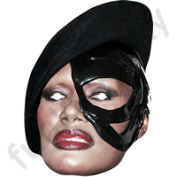 Grace Jones Mask
