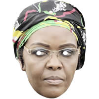 Grace Mugabe Politician Mask