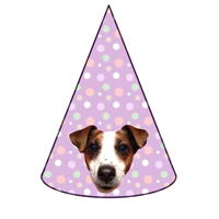 PARTY HATS - PERSONALISED