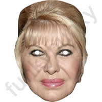 Ivana Trump Mask Politician Mask