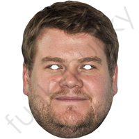 James Corden Celebrity Mask
