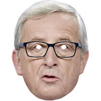Jean-Claude Juncker Politician Mask