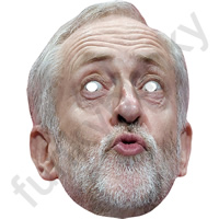 Jeremy Corbyn Version 2 Politician Mask