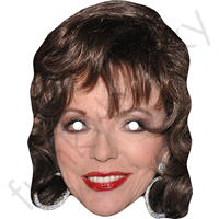 Joan Collins Mask