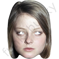 Jodie Foster 1980 Style Actor Mask