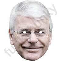 John Major Politician Mask