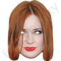 Karen Gillan  (Who appeared in Dr Who) Mask