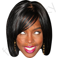 Kelly Rowland X Factor Mask
