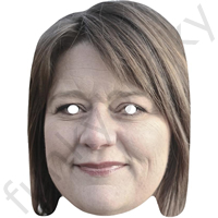 Leanne Wood Politician Mask