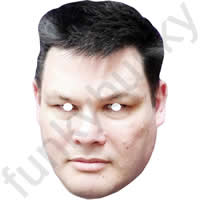 Mark Labbett From The Chase Mask