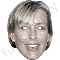 Martina Navratilova Tennis Mask