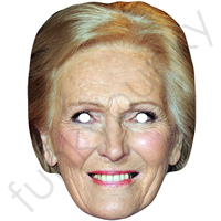 Mary Berry Chef Mask