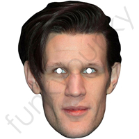 Matt Smith (Who appeared in Dr Who) Mask