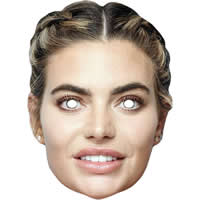 Megan Barton Hanson From Love Island Mask