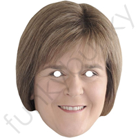 Nicola Sturgeon Politician Mask