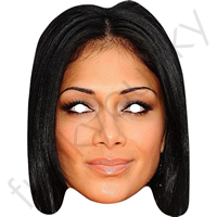 Nicole Scherzinger X Factor Judge Mask