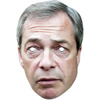 Nigel Farage version 2 Mask