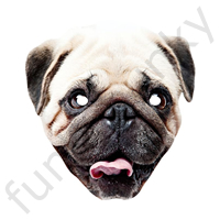 PUG Dog Animal Mask