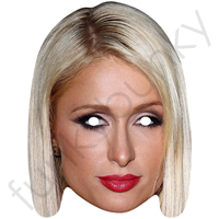 Paris Hilton Celebrity Mask