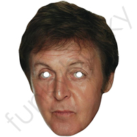 Paul McCartney Mask